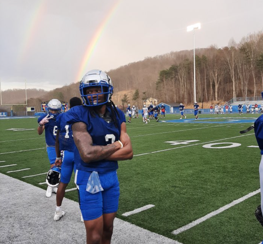 Delonte Hood the talented defensive back from Peru State is hoping to show NFL scouts why he belongs in the league.