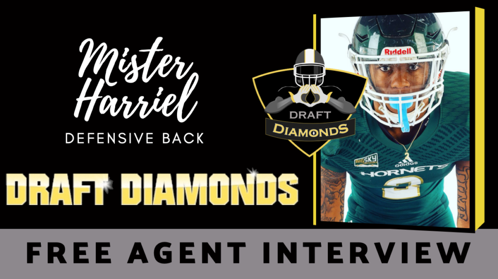 Former standout defensive back Mister Harriel recently sat down with NFL Draft Diamonds wirter Justin Berendzen. Check it out!