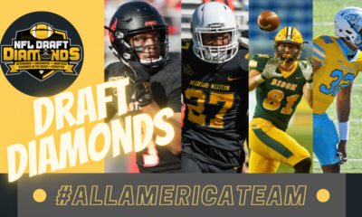 2021 NFL Draft Diamonds Small School Preseason All-American Team presented by Eye Black (The Official Eye Black for College Athletes)