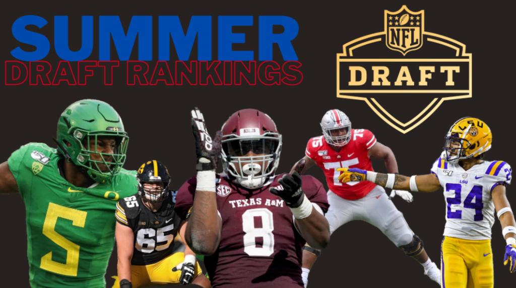 Summer Draft Rankings Top 153 players
