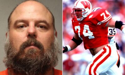 Former Bi Ten Defensive Lineman of the Year and Co-Defensive Player of the Year for Wisconsin pleads not guilty to sexual assault of a minor