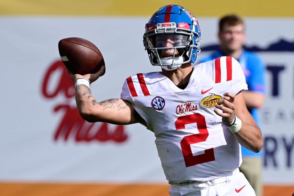 Matt Corrall Ole Miss NFL Draft 2022