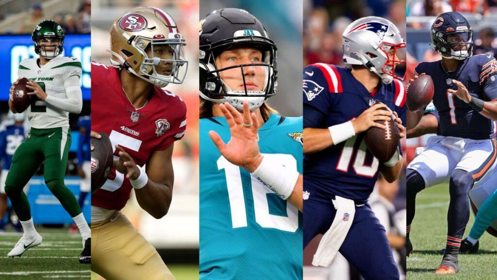 Five NFL rookies too much for them?