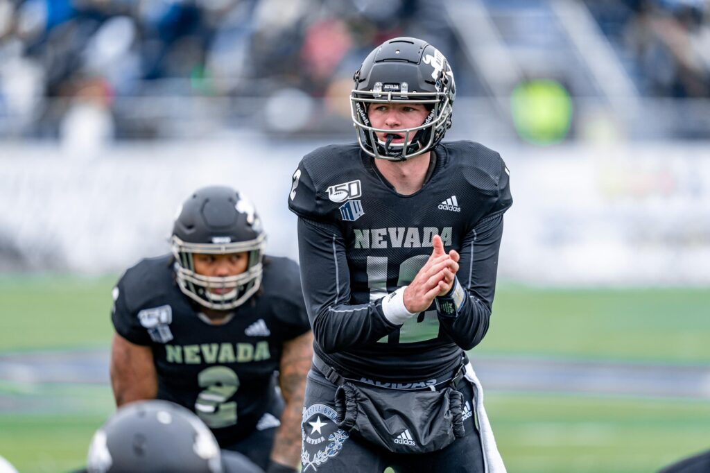 Nevada QB Carson Strong is one of the best quarterbacks in the NCAA. Strong has an NFL arm, but will his decision making is questionable