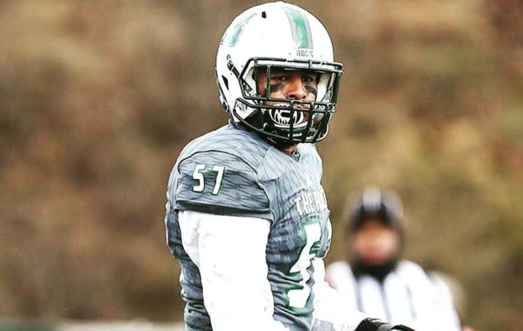 Trysten McDonald the playmaking linebacker from Slippery Rock University recently sat down with Justin Berendzen of NFL Draft Diamonds