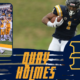Quay Holmes the standout running back from East Tennessee State University recently sat down with NFL Draft Diamonds writer Jimmy Williams. Check out this exclusive Zoom interview with Quay Holmes and make sure you remember him come April. Hit the like button and Subscribe Below