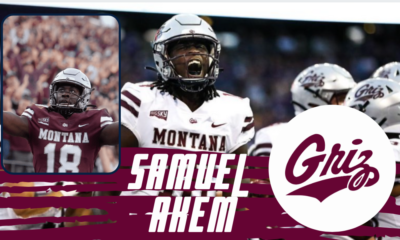 Montana wide receiver Samuel Akem is a big-time deep threat that has caught the eye of our scouts at NFL Draft Diamond.