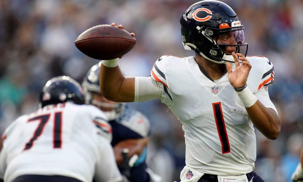 Justin Fields Bears NFL Draft
