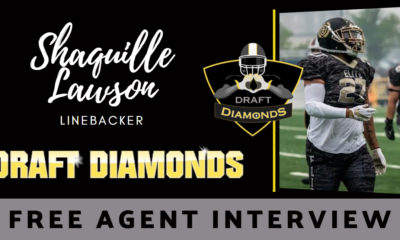 Shaquille Lawson the free agent linebacker recently sat down with NFL Draft Diamonds writer Justin Berendzen.