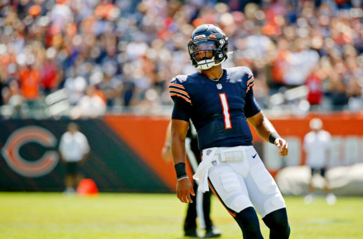 Justin Fields named starter for the bears during week 3