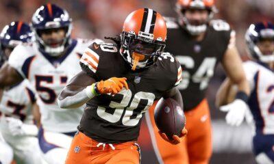 D'Ernest Johnson Browns NFL