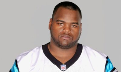 Former Carolina Panthers defensive tackle Kendal Moorehead was arrested for soliciting prostitution in Tuscaloosa.