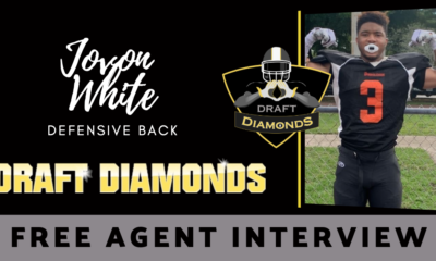Jovon White the NFL Free Agent Defensive Back recently sat down with NFL Draft Diamonds writer Justin Berendzen