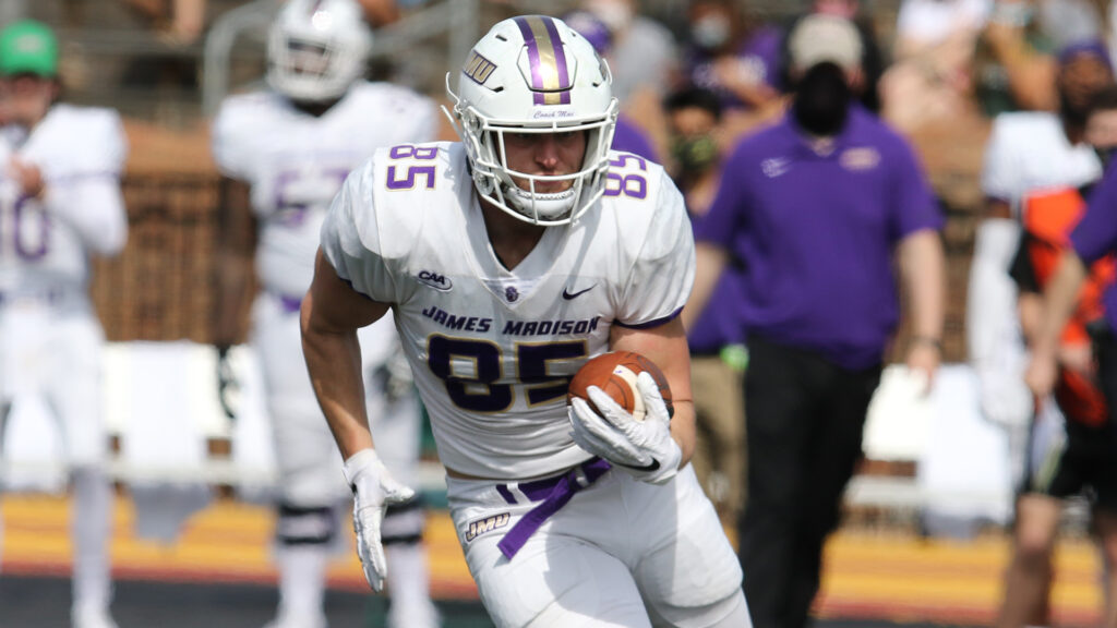 Noah Turner the grad transfer tight end from James Madison University recently sat down with NFL Draft Diamonds owner Damond Talbot.