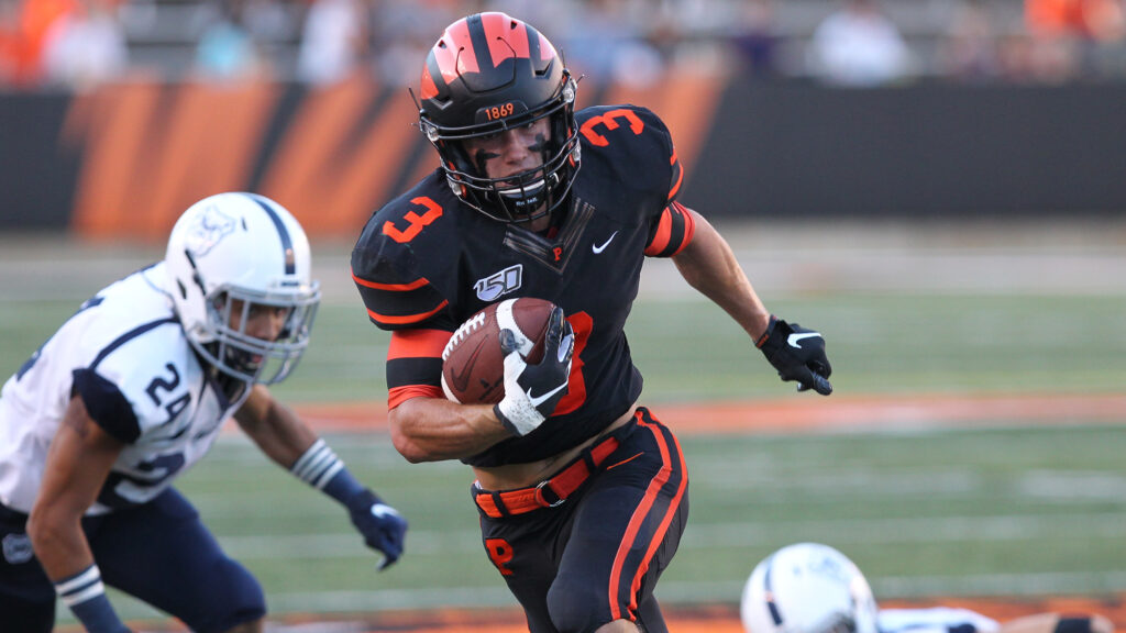 Jacob Birmelin the play making wide receiver from Princeton University recently sat down with NFL Draft Diamonds owner Damond Talbot.