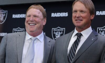 Raiders owner Mark Davis is pissed off and it shows in his response to ESPN.com's Paul Gutierrez's question.
